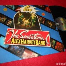 Discos de vinilo: ALEX HARVEY BAND THE SENSATIONAL LIVE LP 1976 VERTIGO EDICION ESPAÑOLA SPAIN. Lote 137421866