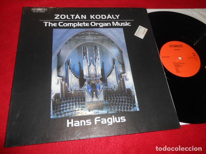 HANS FAGIUS ZOLTAN KODALY THE COMPLETE ORGAN MUSIC LP 1982 BIS LP-199 GERMANY PIANO EX (Música - Discos - LP Vinilo - Clásica, Ópera, Zarzuela y Marchas)