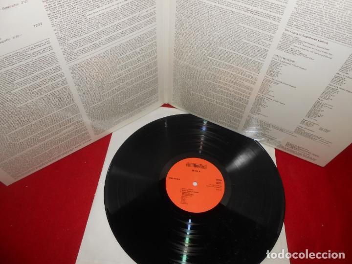Discos de vinilo: HANS FAGIUS Zoltan Kodaly The Complete Organ Music LP 1982 BIS LP-199 GERMANY PIANO EX - Foto 2 - 137422814