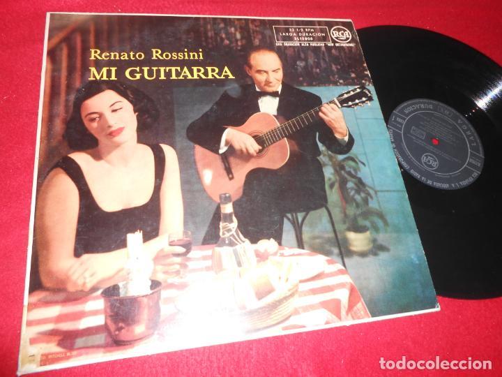 RENATO ROSSINI MI GUITARRA LP 195? RCA 3L12026 SPAIN EDITION ESPAÑOLA GUITAR (Música - Discos - LP Vinilo - Clásica, Ópera, Zarzuela y Marchas)