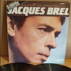 Discos de vinilo: JACQUES BREL / MISMO TÍTULO / DOBLE LP - BARCLAY - 1981 / MBC. ***/***. Lote 137428078