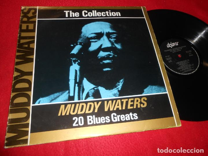 MUDDY WATERS THE MUDDY WATERS COLLECTION THE VERY BEST LP 1987 DEJAVU EDICION ITALIANA ITALY (Música - Discos - LP Vinilo - Jazz, Jazz-Rock, Blues y R&B)