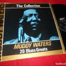 Discos de vinilo: MUDDY WATERS THE MUDDY WATERS COLLECTION THE VERY BEST LP 1987 DEJAVU EDICION ITALIANA ITALY. Lote 137428550