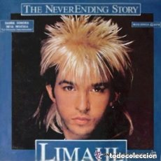 Discos de vinilo: LIMAHL, LA HISTORIA INTERMINABLE, THE NEVER ENDING STORY, MAXI-SINGLE EMI SPAIN 1984. Lote 151021013