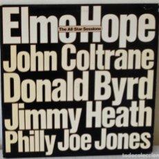 Discos de vinilo: ELMO HOPE -THE ALL-STAR SESSIONS- JOHN COLTRANE, DONALD BYRD... MILESTONE - 1976 2 LP´S GAT. Lote 137434570