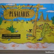 Dischi in vinile: 27 PUÑALADAS - FANZINE + EP1987 // AGENTES SECRETOS PARAPLEJIKO Y LOS MONOS AMOR DE MADRE PUNK MOD. Lote 137439482
