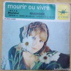 Discos de vinilo: SINGLE / MARC MICHELOS-ORQUESTA S. CATES/MOURIR OU VIVRE/EXITO Nº 4/PANORAMA-MARFER M.S.20.025 /1966. Lote 137440218