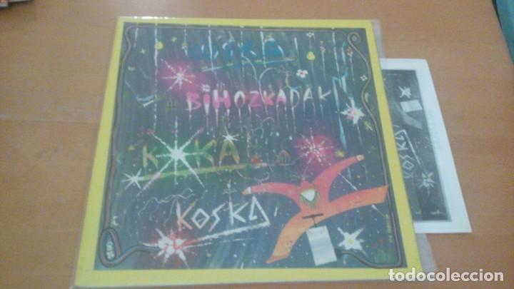 KOSKA BIHOZKADAK LP GATEFOLD INSERTO XOXOA 1979 (Música - Discos - LP Vinilo - Grupos Españoles de los 70 y 80)