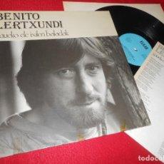 Discos de vinilo: BENITO LERTXUNDI GAUEKO ELE IXILEN BALADAK LP 1985 ELKAR EDICION ESPAÑOLA SPAIN. Lote 137447570