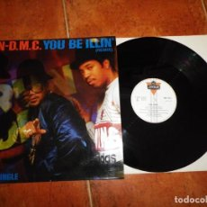 Discos de vinilo: RUN D.M.C. YOU BE ILLIN´ ( REMIX ) MAXI SINGLE VINILO DEL AÑO 1986 ESPAÑA TIENE 3 TEMAS HIP HOP RAP. Lote 137474914