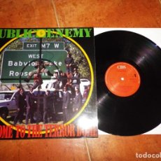 Discos de vinilo: PUBLIC ENEMY WELCOME TO THE TERROR DOME MAXI SINGLE VINILO 1989 ESPAÑA CONTIENE 3 TEMAS HIP HOP RAP. Lote 137475290