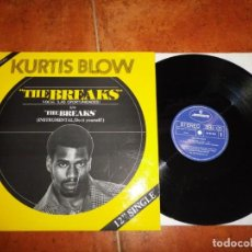 Discos de vinilo: KURTIS BLOW THE BREAKS LAS OPORTUNIDADES) MAXI SINGLE VINILO 1980 ESPAÑA TIENE 2 TEMAS RAP HIP HOP. Lote 137476210