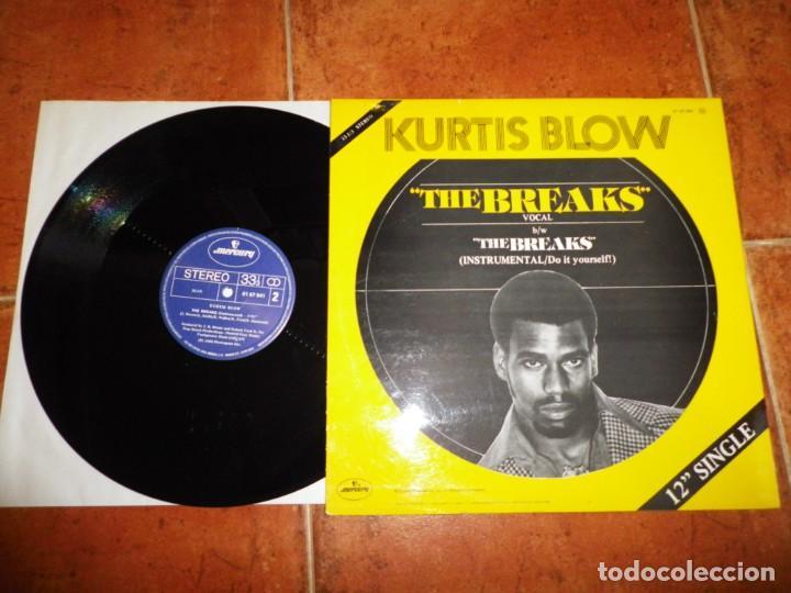 Discos de vinilo: KURTIS BLOW The breaks LAS OPORTUNIDADES) MAXI SINGLE VINILO 1980 ESPAÑA TIENE 2 TEMAS RAP HIP HOP - Foto 3 - 137476210
