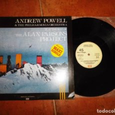 Discos de vinilo: ANDREW POWELL LUCIFER THE BEST OF THE ALAN PARSONS PROJECT MAXI SINGLE VINILO 1983 ESPAÑA 3 TEMAS. Lote 137478902