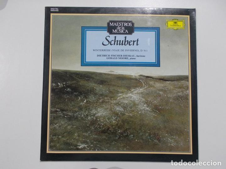 MAESTROS DE LA MÚSICA - SCHUBERT (Música - Discos - LP Vinilo - Otros estilos)