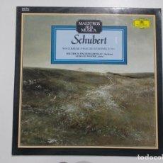 Discos de vinilo: MAESTROS DE LA MÚSICA - SCHUBERT. Lote 137486834