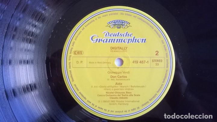 Discos de vinilo: Giuseppe Verdi, Chorus And Orchestra Of La Scala, Milan, Claudio Abbado-Choruses And Ballet Music - Foto 4 - 158978985
