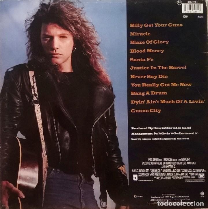 Discos de vinilo: Jon Bon Jovi-Blaze Of Glory, Vertigo-846 473-1, Phonogram-846 473-1 - Foto 2 - 137490538