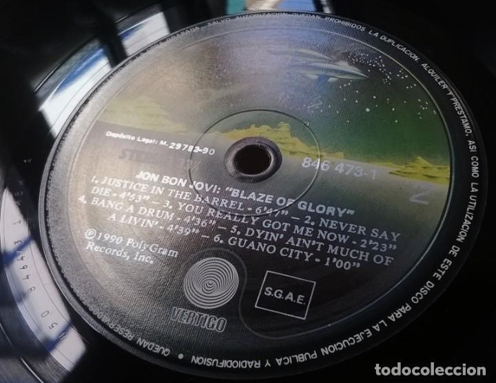 Discos de vinilo: Jon Bon Jovi-Blaze Of Glory, Vertigo-846 473-1, Phonogram-846 473-1 - Foto 4 - 137490538