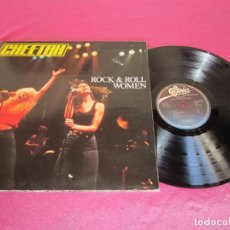 Discos de vinilo: CHEETAH.- ROCK& ROLL WOMEN.1981 LP. Lote 137503422