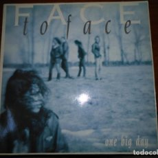 Discos de vinilo: FACE TO FACE · ONE BIG DAY (LP). Lote 137504478