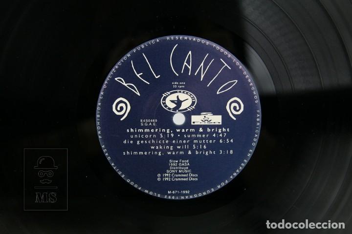 Discos de vinilo: Disco LP De Vinilo - Bel Canto, Shimmering, Warm and Bright - Crammed - Año 1992 - Con Encarte - Foto 2 - 137504786
