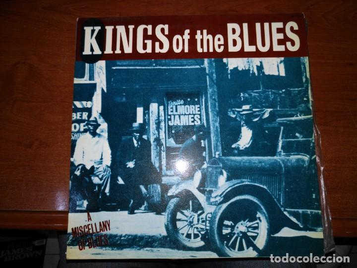 KINGS OF THE BLUES (A MISCELLANY OF BLUES) LP (Música - Discos - LP Vinilo - Rock & Roll)