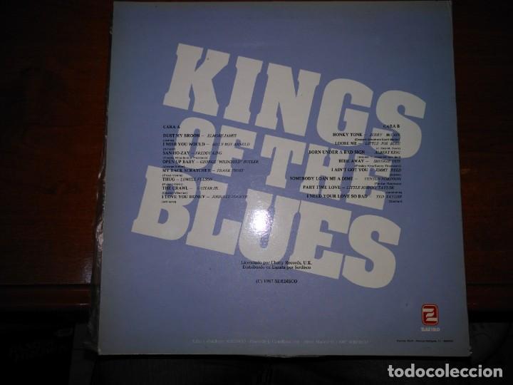 Discos de vinilo: KINGS OF THE BLUES (A MISCELLANY OF BLUES) LP - Foto 2 - 137507470