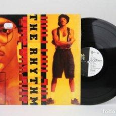 Discos de vinilo: DISCO LP DE VINILO - THE RHYTHM / SLAVE TO THE RHYTHM - WTG RECORDS - AÑO 1991 - MADE IN US. Lote 137510110