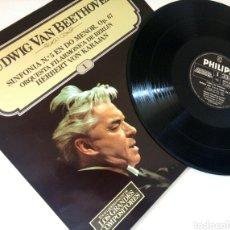 Discos de vinilo: BEETHOVEN SINFONÍA N°5 EN DO MENOR OP.67 / LP / CERCA DE NUEVO.. Lote 137511580