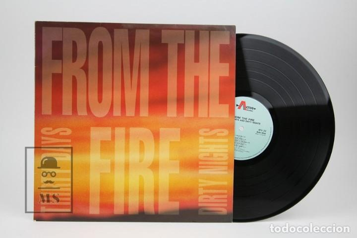 DISCO LP DE VINILO- FROM THE FIRE / THIRTY DAYS AND THIRTY NIGHTS - MUSIC FOR NATIONS 1992 - MADE UK (Música - Discos - LP Vinilo - Heavy - Metal)