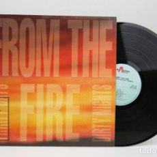 Discos de vinilo: DISCO LP DE VINILO- FROM THE FIRE / THIRTY DAYS AND THIRTY NIGHTS - MUSIC FOR NATIONS 1992 - MADE UK. Lote 137515534
