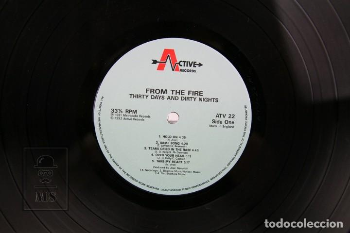 Discos de vinilo: Disco Lp De Vinilo- From The Fire / Thirty days And Thirty Nights - Music For Nations 1992 - Made UK - Foto 2 - 137515534
