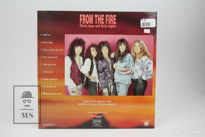 Discos de vinilo: Disco Lp De Vinilo- From The Fire / Thirty days And Thirty Nights - Music For Nations 1992 - Made UK - Foto 4 - 137515534