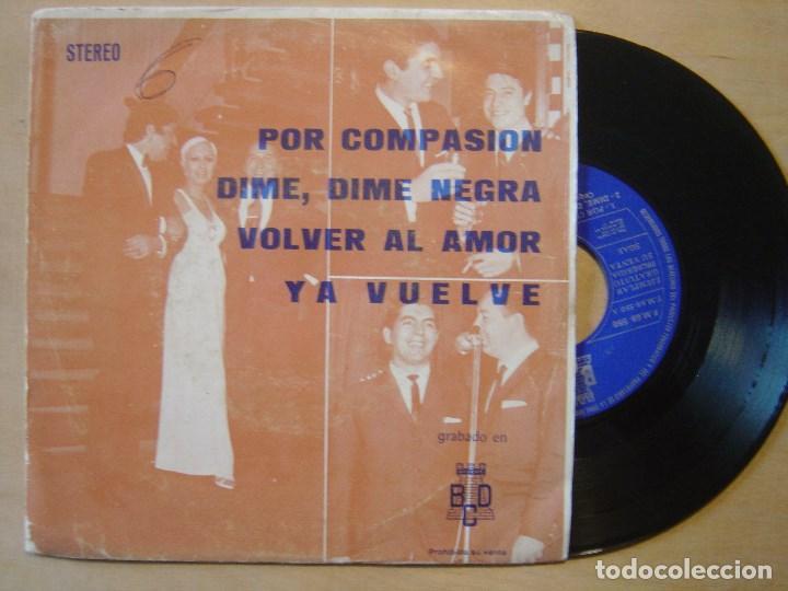ORQUESTA FANTASIA Y NARBO POR COMPASION - EP PROMOCIONAL 1971 - BCD (Música - Discos de Vinilo - EPs - Grupos Españoles de los 70 y 80)