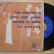 Discos de vinilo: ORQUESTA FANTASIA Y NARBO POR COMPASION - EP PROMOCIONAL 1971 - BCD. Lote 137530414