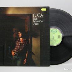 Discos de vinilo: DISCO LP DE VINILO - LUIS EDUARDO AUTE, FUGA - MOVIE PLAY - AÑO 1982. Lote 137531546