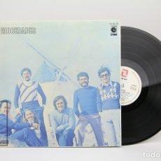 Discos de vinilo: DISCO LP DE VINILO - MOCEDADES - NOVOLA / ZAFIRO - AÑO 1973 - DOBLE PORTADA. Lote 137532130