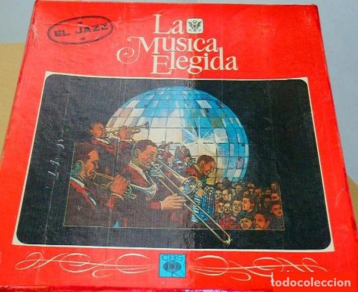 LA MÚSICA ELEGIDA * EL JAZZ * BOX SET 4LP + LIBRO 100 PÁGINAS EN ESPAÑOL * PROMOCIONAL * RARE (Música - Discos - LP Vinilo - Jazz, Jazz-Rock, Blues y R&B)