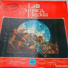 Discos de vinilo: LA MÚSICA ELEGIDA * EL JAZZ * BOX SET 4LP + LIBRO 100 PÁGINAS EN ESPAÑOL * PROMOCIONAL * RARE. Lote 112983235