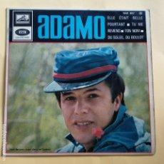 Discos de vinilo: EP ADAMO - ELLE ETAIT BELLE POURTANT. Lote 137548534