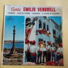Discos de vinilo: EP EMILIO VENDRELL - L' EMIGRANT. Lote 137550462