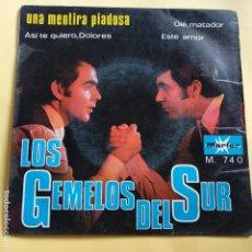 Discos de vinilo: EP LOS GEMELOS DEL SUR - UNA MENTIRA PIADOSA. Lote 137550862