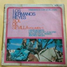 Discos de vinilo: EP LOS HERMANOS REYES - SOL DE SEVILLA. Lote 137550954