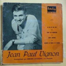 Discos de vinilo: EP JEAN PAUL VIGNON - HI HA HI HA HO. Lote 137551382