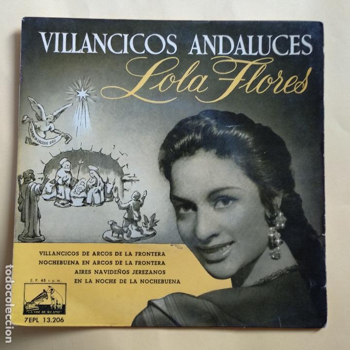 EP LOLA FLORES - VILLANCICOS ANDALUCES (Música - Discos de Vinilo - EPs - Otros estilos)