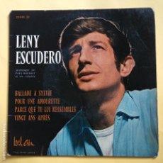 Discos de vinilo: EP LENY ESCUDERO - BALLADE A SYLVIE. Lote 137551654