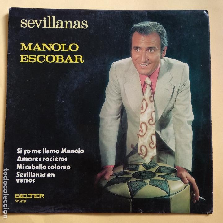 EP MANOLO ESCOBAR - SI YO ME LLAMO MANOLO (Música - Discos de Vinilo - EPs - Otros estilos)