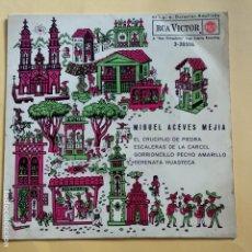 Discos de vinilo: EP MIGUEL ACEVES MEJIA - EL CRUCIFIJO DE PIEDRA. Lote 137552166
