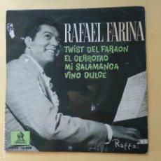 Discos de vinilo: EP RAFAEL FARINA - EL TWIST DEL FARON. Lote 137553210